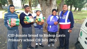 CID donate bread to Bishop Lavis Primary School (20 July) 10
