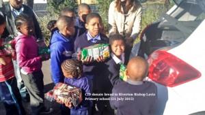 CID donate bread to Riverton Bishop Lavis Primary School (21 July) 26